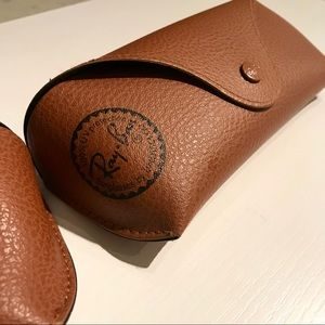 Ray Ban Classic Brown Case